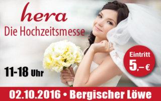 Hochzeitsmesse Bergisch Gladbach, Flyer