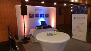 Hochzeitsmesse, Stand Brilliant Event, Hochzeits-DJ
