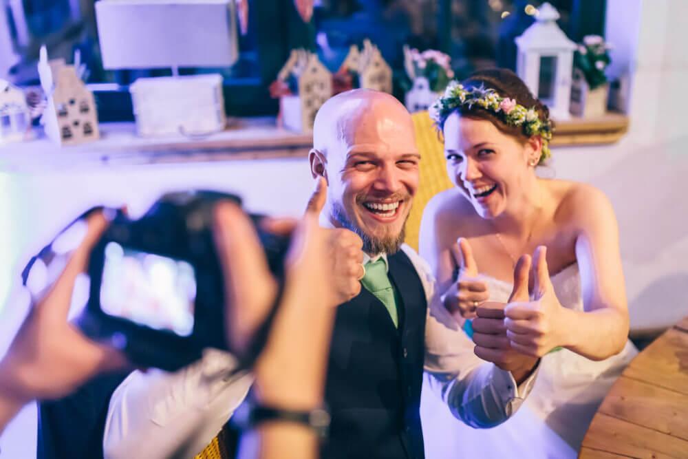 Hochzeits-DJ von Brilliant Event. Was sagen unsere Kunden über uns?